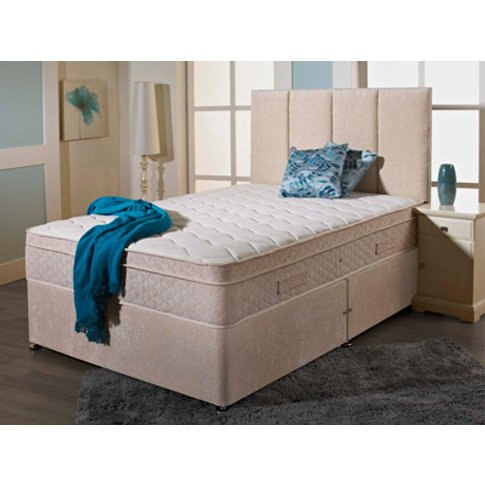 Giltedge Beds Wellington 2000 5ft Kingsize Divan Bed
