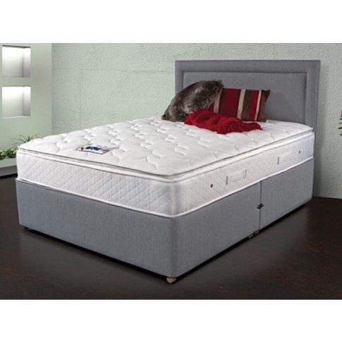 Sleepeezee Memory Comfort 1000 6ft Superking Divan Bed