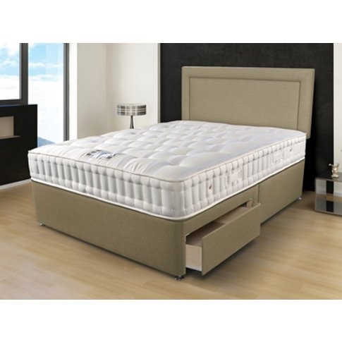 Sleepeezee Naturelle 1400 6ft Superking Divan Bed