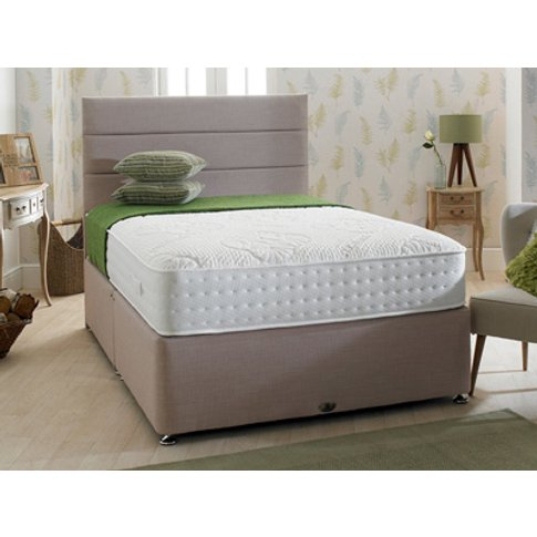 Shire Beds Eco Comfy 4ft Small Double Divan Bed