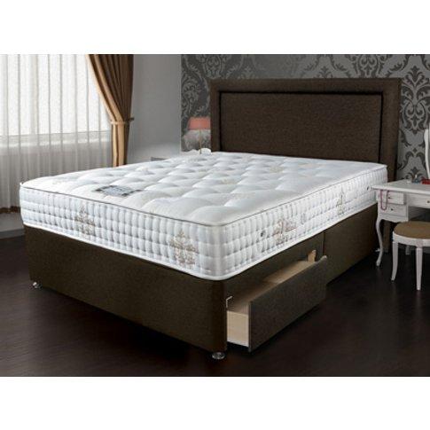 Sleepeezee Bordeaux 2000 Zip & Link Divan Bed