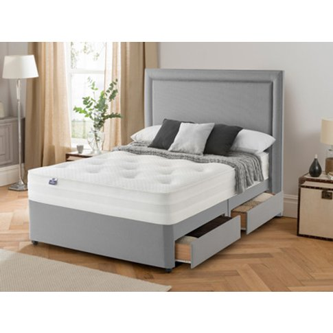 Silentnight 2000 Memory Star 4ft 6 Double Divan Bed