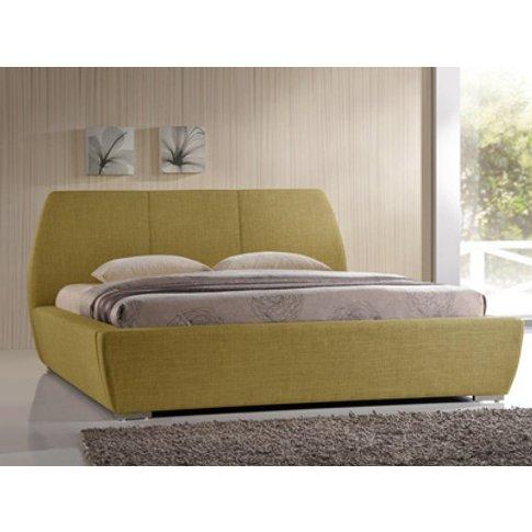 Time Living Naxos 5ft Kingsize Fabric Bedframe