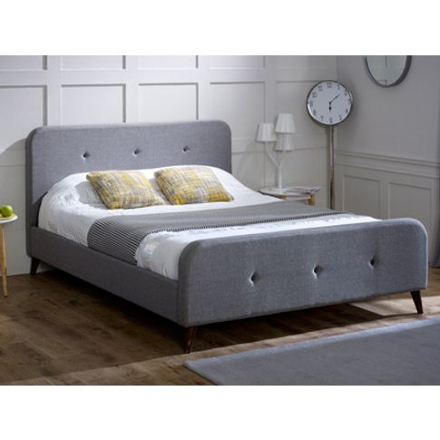 Limelight Beds Tucana Fabric Bedframe,Ash