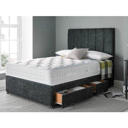 Giltedge Beds Comfort 1000 4ft Small Double Divan Bed