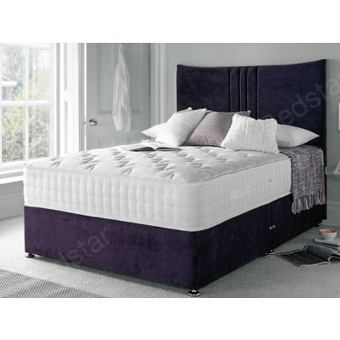 Giltedge Beds Huby 2000 6ft Superking Divan Bed
