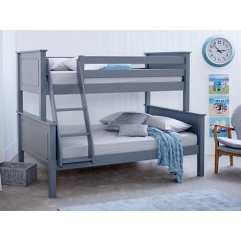 Star Ultimate Ashley Triple Sleeper Bunk Bed,Grey