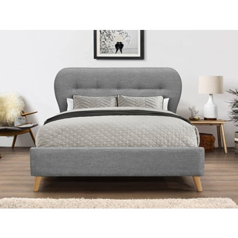 Flair Ashley 5ft Kingsize Fabric Bedframe