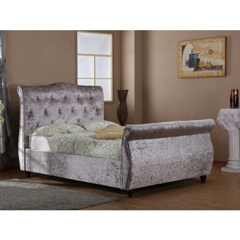 Harmony Beds Mayfair 5ft Kingsize Fabric Bedframe,Si...