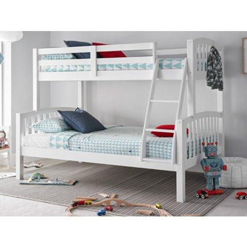 Mya Triple Bunk Bed,White