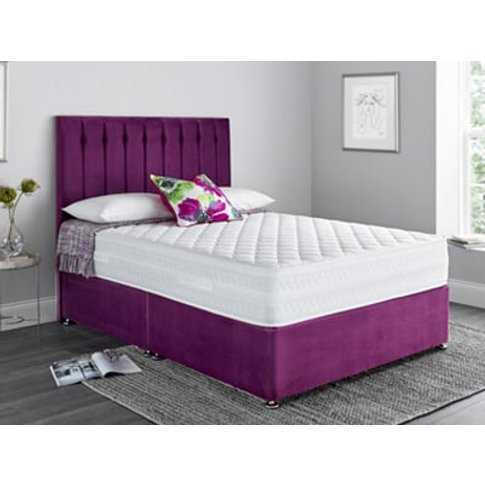 Giltedge Beds Flotech 1500 4ft 6 Double Divan Bed