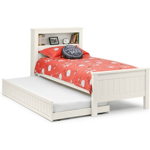 Julian Bowen Maine Bookcase Pull Out Guest Bed,White