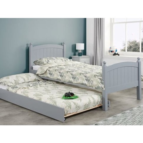 Birlea Whitehaven Pull Out Wooden Guest Bed,Grey