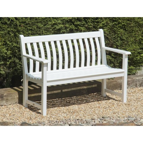 Alexander Rose New England White Painted Broadfield ...
