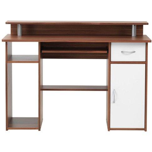 Alphason Albany Desk - Aw12362-W