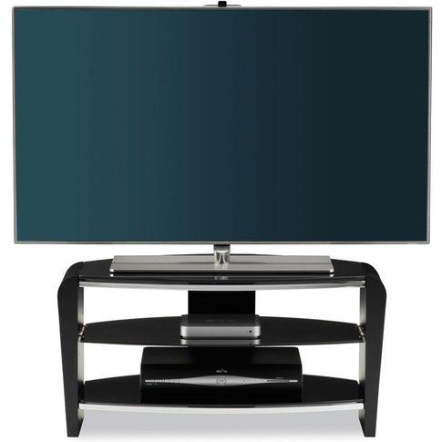 Alphason Francium Black Tv Unit For 36inch - Frn800-...