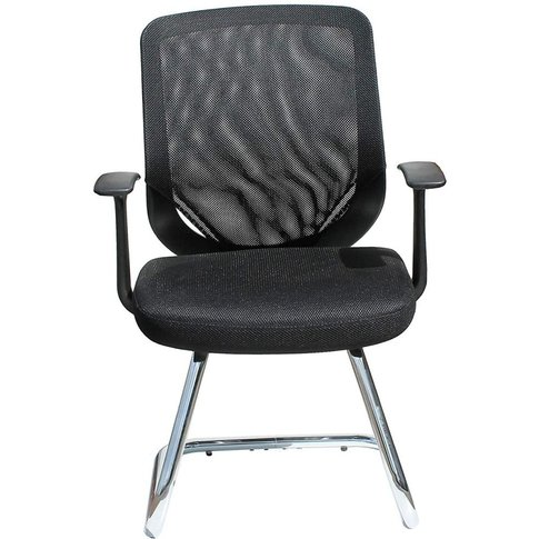 Alphason Atlanta Black Mesh Fabric Office Chair - AO...