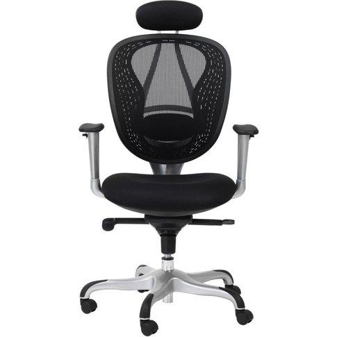 Alphason Blade Black Mesh Fabric Office Chair - Aoc9...