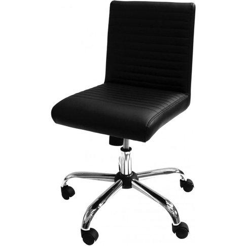 Alphason Lane Black Faux Leather Office Chair - Aoc2...