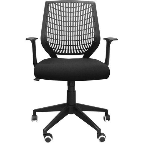 Alphason Pace Black Mesh Fabric Office Chair - Aoc95...