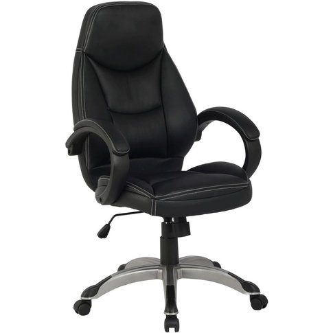 Alphason Portico Black Mesh Fabric Office Chair - AO...