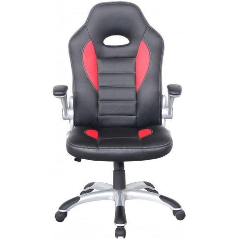 Alphason Talladega Faux Leather Office Chair - Black...