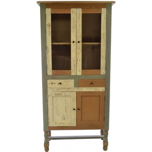 Ancient Mariner Abbey Painted Display Cabinet