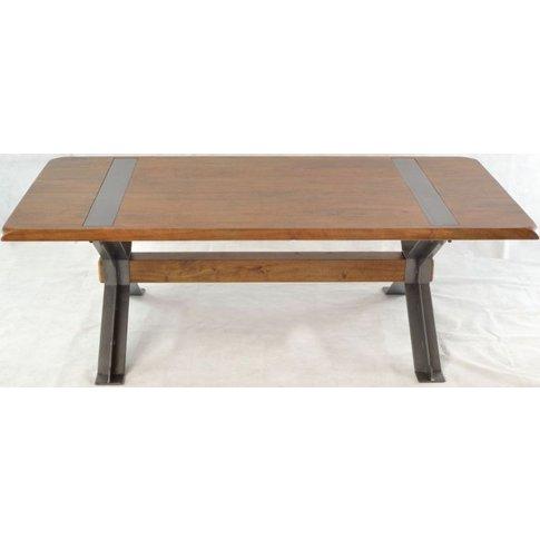 Ancient Mariner Brace Mango Wood Coffee Table