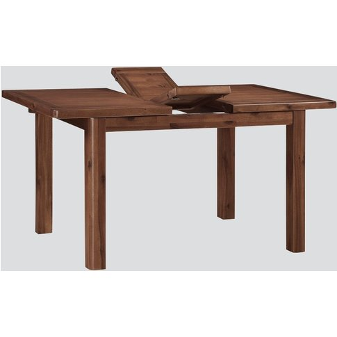 Andorra Dark Acacia Extending Dining Table