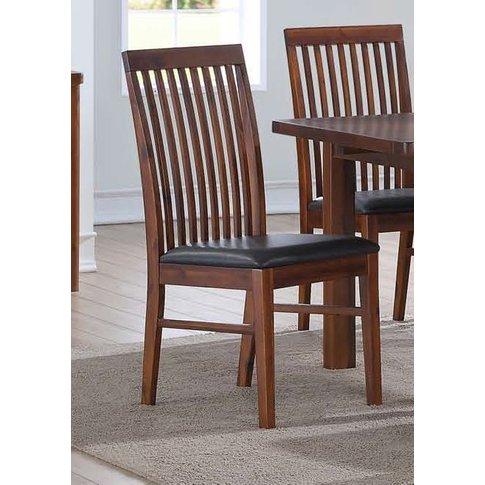 Strathmore Dark Acacia Dining Chair (Pair)