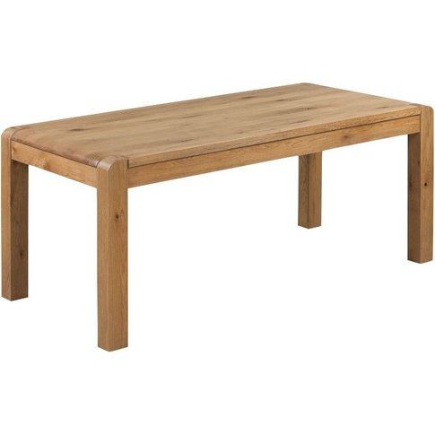 Capri Oak Large Dining Table