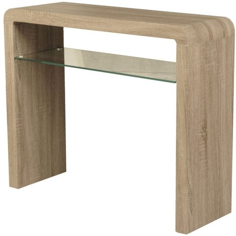 Encore Havana Dark Oak Medium Console Table