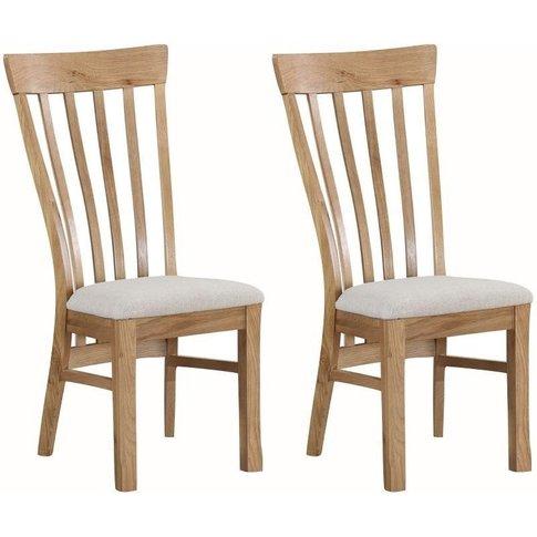 Kilmore Oak Dining Chair (Pair)