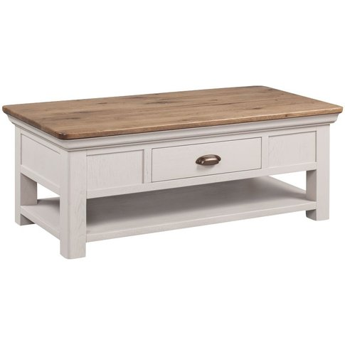 Lyon Coffee Table - Oak And Painted