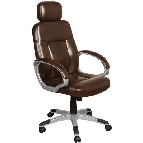 Viking Two Tone Brown Faux Leather Office Chair