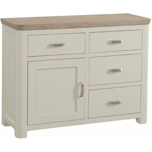 Treviso Sideboard - Oak And Painted