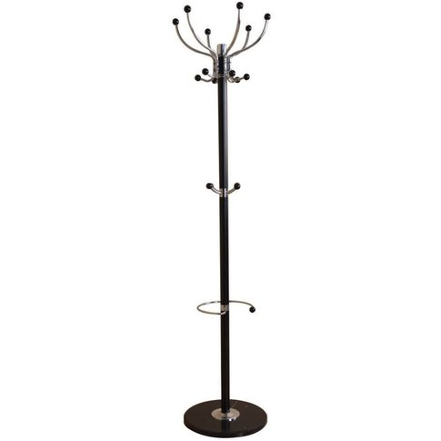 Black Hat and Coat Stand