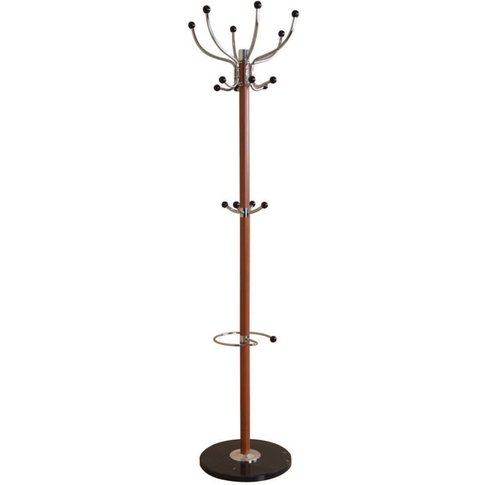 Light Brown Hat and Coat Stand