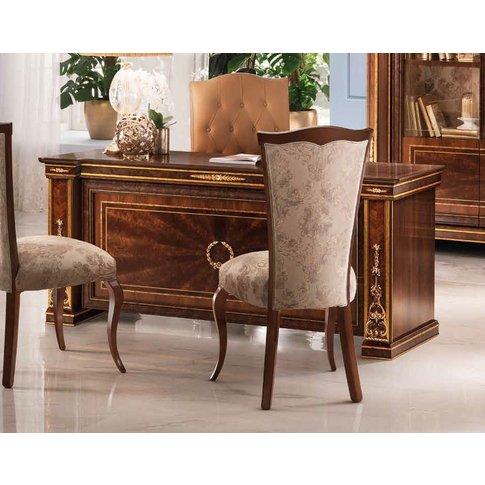 Arredoclassic Modigliani Mahogany Italian Desk