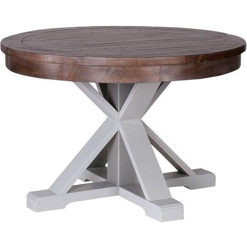 Hamptons Painted Dining Table - Besp Oak