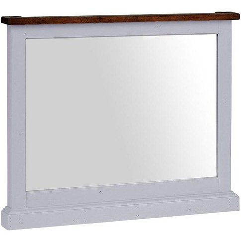 Hamptons Painted Mirror - Besp Oak