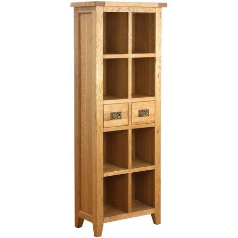 Vancouver Petite Oak Bookcase - Besp Oak