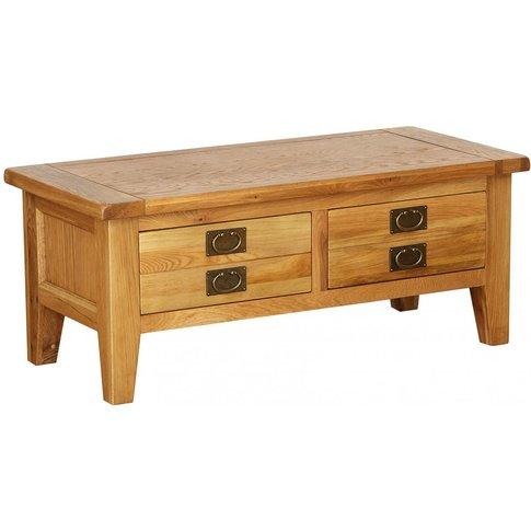 Vancouver Petite Oak Large Coffee Table - Besp Oak