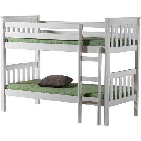 Birlea Portland White 3ft Bunk Bed