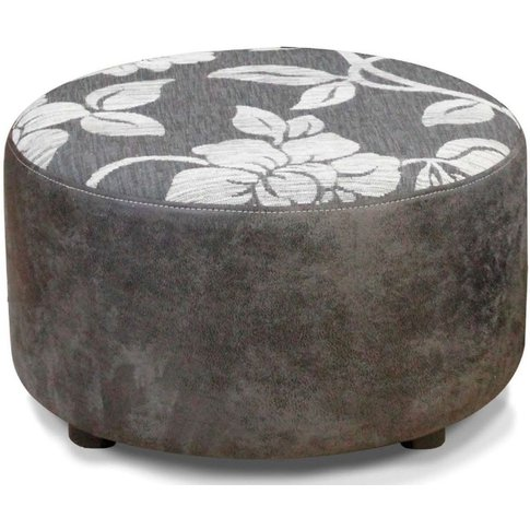 Buoyant Virginia Lily Grey And Rodeo Gunmetal Fabric...