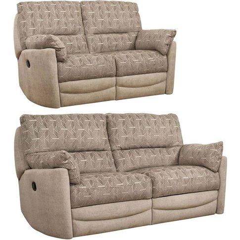 Buoyant Metro 3+2 Seater Fabric Recliner Sofa Suite