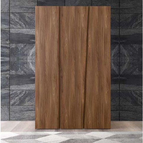 Camel Akademy Italian Wooden 3 Door Wardrobe
