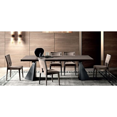 Camel Elite Day Italian Extending Dining Table And 6...