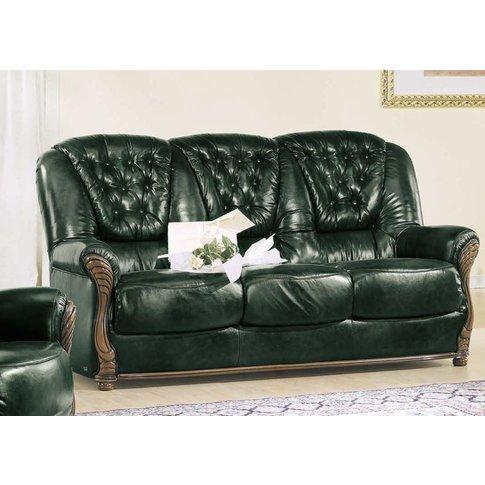 Camel Pisa Italian Leather 2 Seater Sofa Bed