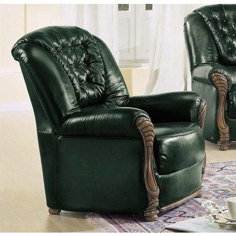 Camel Pisa Italian Leather Armchair